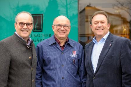 Fritz Benz, Werner Seibold, Rolf-Dieter Hess